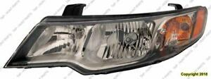 Head Lamp Driver Side Coupe 10/12/2009-2013 High Quality Kia Forte 2009-2013