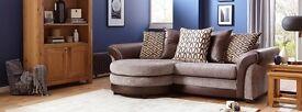 Stunning Waltz: 4 Seater Pillow Back Lounger