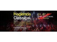 1 July hacienda classical x 2 tickets