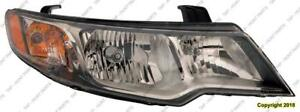 Head Lamp Passenger Side Koup (Coupe) High Quality Kia Forte 2010