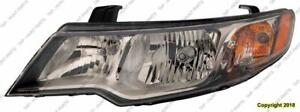 Head Lamp Driver Side Koup (Coupe) High Quality Kia Forte 2010