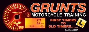 Grunts Motorcycle Training Kelmscott Armadale Area Preview