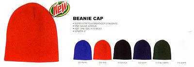 Wholesale Lot 12 Beanies Knit 8 Ski Skull Caps Hat U Pick Colors Tuque