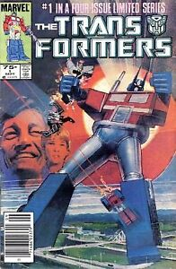 Transformers #1 and 3 Marvel Comic
