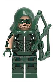 DC Comics Lego Compatible Mini Figures, Flash, Arrow, Batman, Wonderwoman
