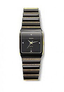 RADO ANATOM MEN'S WATCH JUBILE QUARTZ 18K SOLID GOLD & DIAMOND
