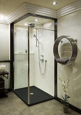 black shower tray ebay. Black Bedroom Furniture Sets. Home Design Ideas