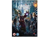 Avengers assemble, Man of steel, Superman etc BLU-RAYS
