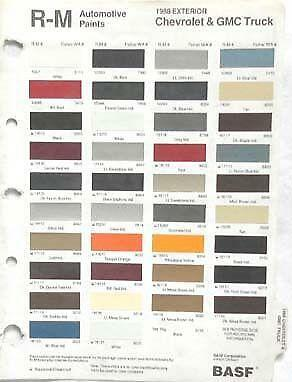 gm paint code location gm color codes   elsavadorla GM Wiring Color Codes chevy wiring color code chart for boats