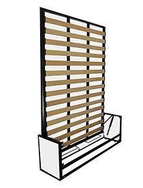 Vertical Panel wall bed, 160x200