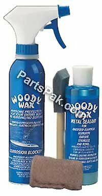 Woody Wax Corrosion Protection Restoration System Kit 16 Oz 1Kt/Pk WWK16