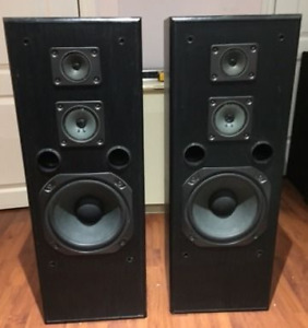 FISHER Professional Speakers 36inch+RS-717 RECIEVER Studio Pro