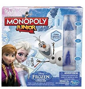 Frozen Monopoly Junior Game Edition - BRAND NEW IN BOX
