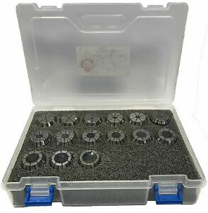 "ER25 Collet SET 18pcs ,3/32"" ~5/8"""