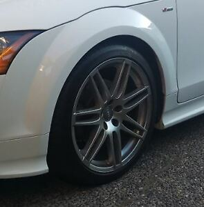 "Audi OEM 19"" S-Line Wheels and Tires"
