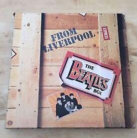 The Beatles From Liverpool Box Set 1980 8 LP Vinyl Set EX/EX