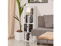 Bookcase Bookshelf Storage Free Standing Display Unit - 4 Tier White (Brand New Unopened)