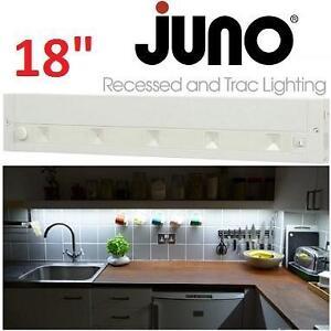 "NEW JUNO LED UNDERCABINET LIGHT 18"" 18 in. White LED Dimmable, Linkable Under Cabinet Light 106165914"