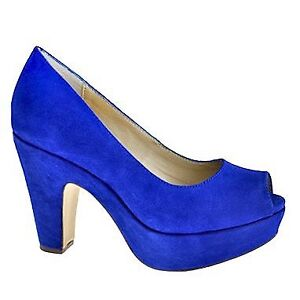 Wanted: Town Shoes Blue Suede Shoes