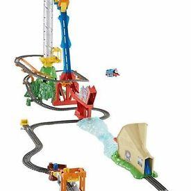 Thomas the tank engine sky high train set