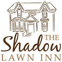 Server at Shadow Lawn Inn in Rothesay NB