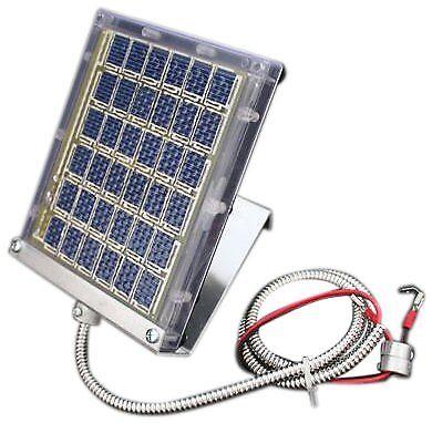 NEW Boss Buck Drum Mount Solar Panel Iniquitous 12 volt Uninhibited SHIPPING