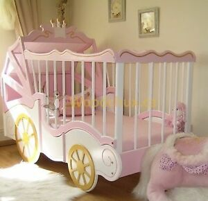 ROYAL BABY CARRIAGE Convertible Bedroom Set --- ♥‿♥