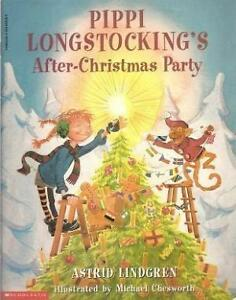 """Book: """"Pippi Longstocking After Christmas Party"""""""