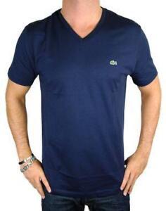 V neck t shirt men ebay for Mens plain v neck t shirts