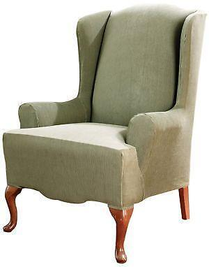 wing chair slipcover - Slipcover For Wingback Chair