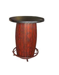 Lovely Whiskey Barrel Tables
