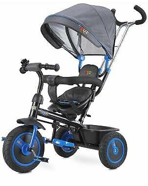 Toyz Buzz Navy Dreirad für Kinder Fahrrad Kinderwagen Kinderdreirad