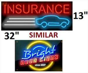 FOR SALE INSURANCE NEON SIGN