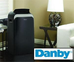 NEW OB DANBY 11,000BTU AC Premiere 11,000 BTU Portable 3-in-1 Air Conditioner Cooling, Heating Air Treatment