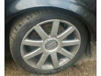 Audi a4 b6 alloy wheel