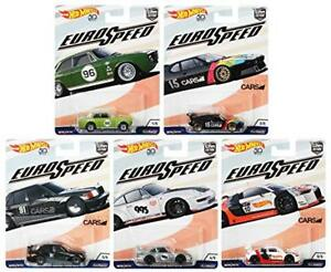 Hot Wheels Euro Speed - 50th Anniversary Set of 5 - 1:64 Scale