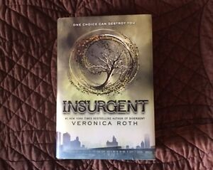 sequel to Divergent, this is the INSURGENT book, brand new!