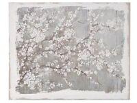 Apple Blossom Linen Canvas (large)