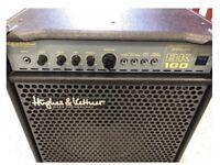 BK100 Bass Amplifier Hughes and Kettner 100 Watt Bass Amplifier