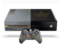 Xbox one 1tb call of duty special edition