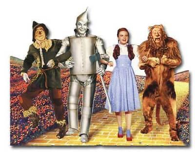 Wizard of Oz - Yellow Brick Road Blank Die Cut Blank Card