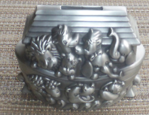 Lillian Rose Pewter Bank, Noah's Ark