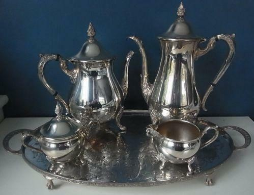 Epns Tea Set Ebay