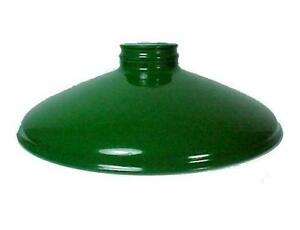Green Metal Lamp Shade