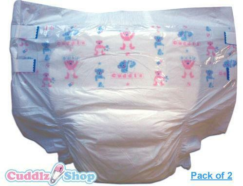 Cuddlz Sample Pack of Adult Baby ABDL Nappies  Diapers