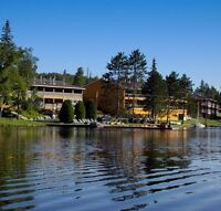 Morning Server / Room Attendant.  Year Round. Full Time, Muskoka