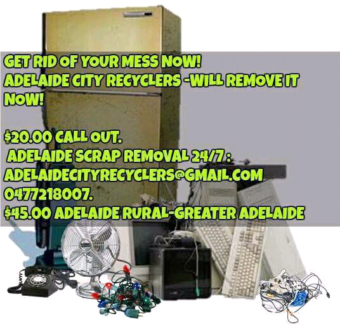 Crafers,Stirling 24/7 Scrap Removal.