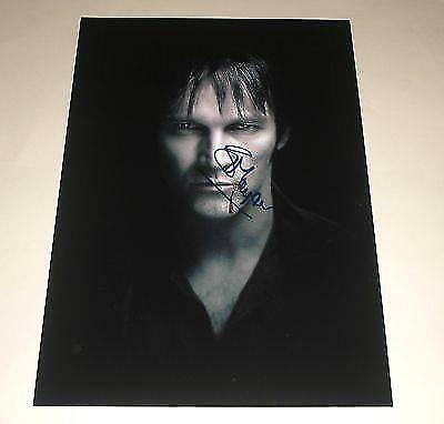 """STEPHEN MOYER : TRUE BLOOD PP SIGNED 12""""X8"""" POSTER"""