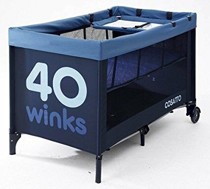 Cosatto 40 Winks Bassinette and Travel Cot (Blue)
