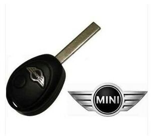 replacement 2 button key fob case for bmw mini one cooper s remote ebay. Black Bedroom Furniture Sets. Home Design Ideas